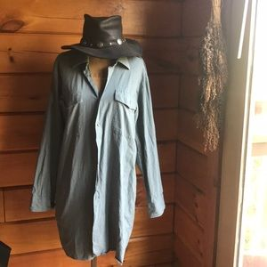 Vintage Soft Shirt Dress